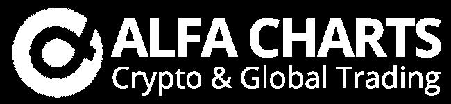Logo Alfa Charts blanco